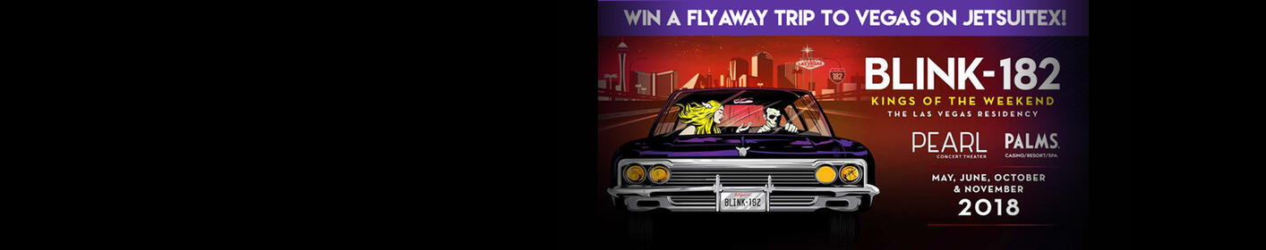Win a Trip to See Blink-182's Kings Of The Weekend Residency All Week on The Woody Show!