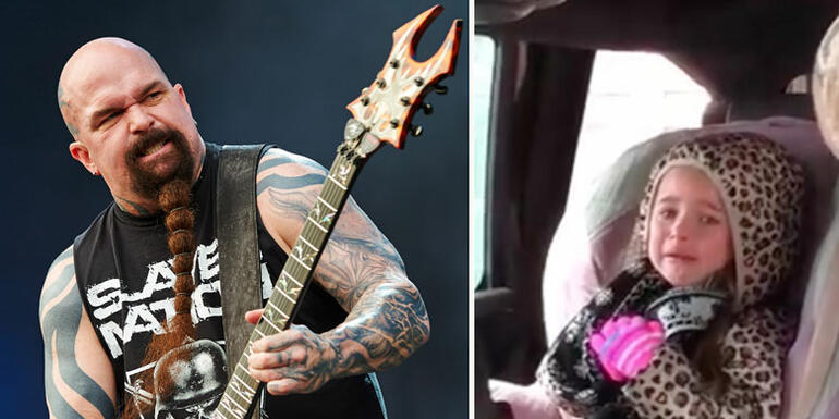 4-Year-Old Cries Because Her Dad Won't Take Her To Slayer Concert