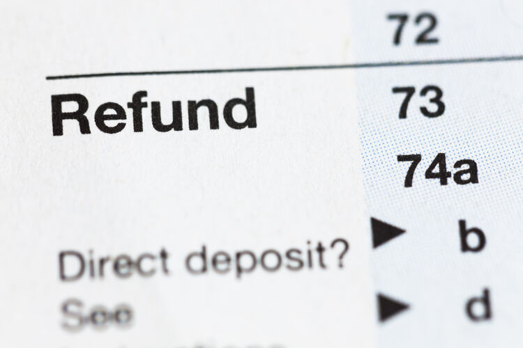 Tax Refund Getty Images
