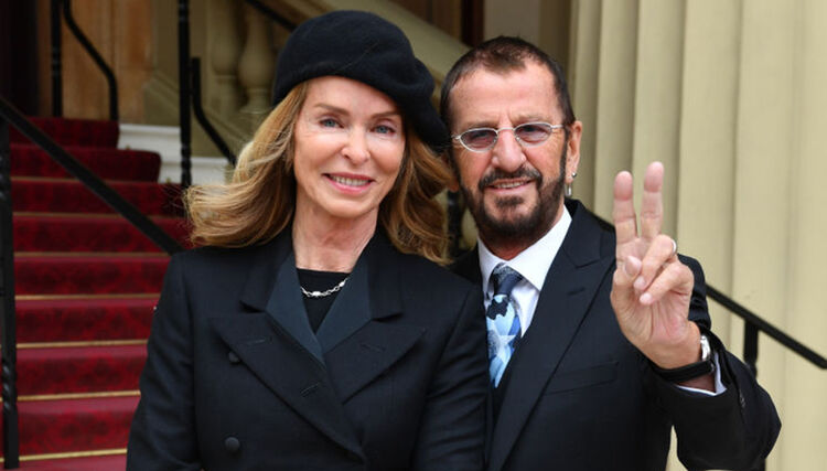 Barbara Bach And Husband Sir Ringo Starr