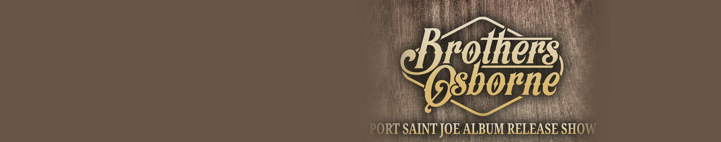 Win tickets to the EXCLUSIVE Brothers Osbourne Port St Joe show!