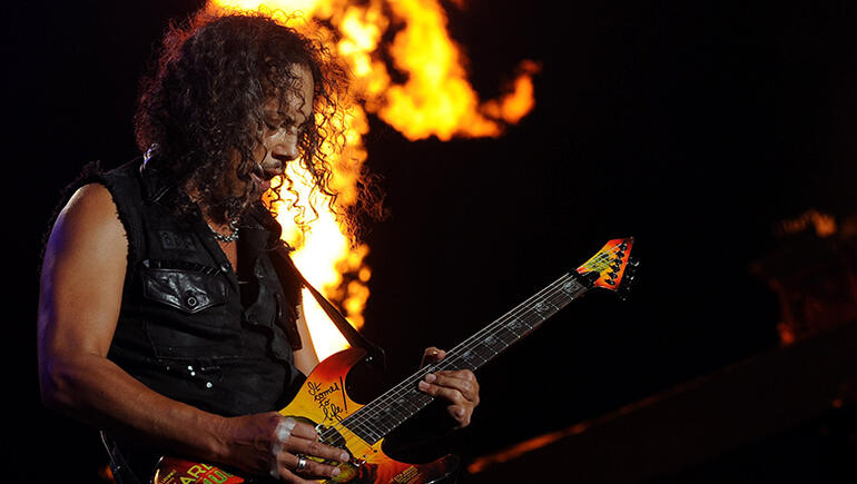 Kirk Hammett Reveals Which Guitar He Saved From Wildfires First