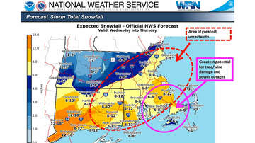 Storm Center - Storm Could Bring 6-8 Inches of Snow to Boston Area