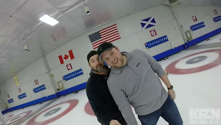 WATCH: The Power Trip went curling with @TeamShuster, here's the vid