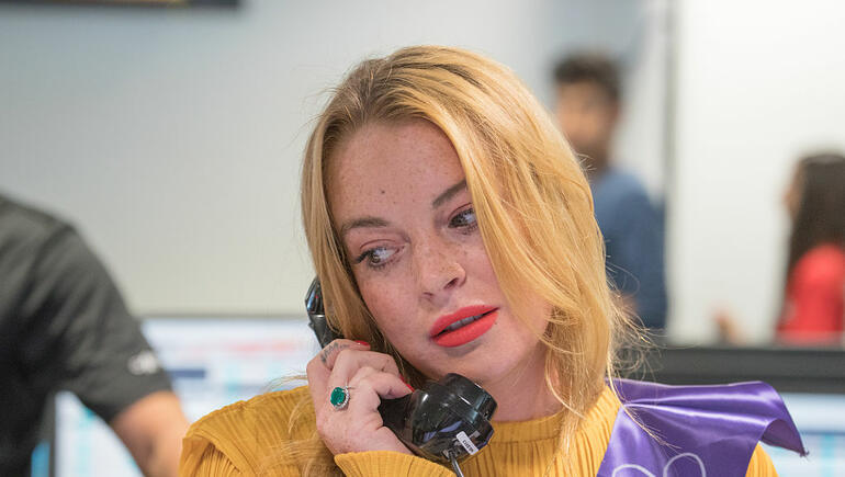 Lindsay Lohan Got A New Job And It's Very Strange