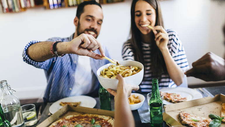 Study Shows Your Partner May Secretly Be Making You Fat