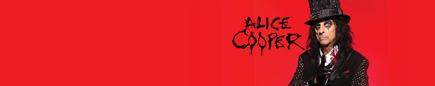 A Paranormal Evening with Alice Cooper - March 29th at Old National Centre