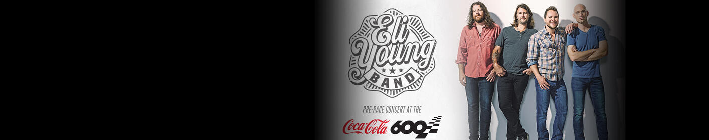 Eli Young Band to Play Coca-Cola 600 Pre-Race Concert