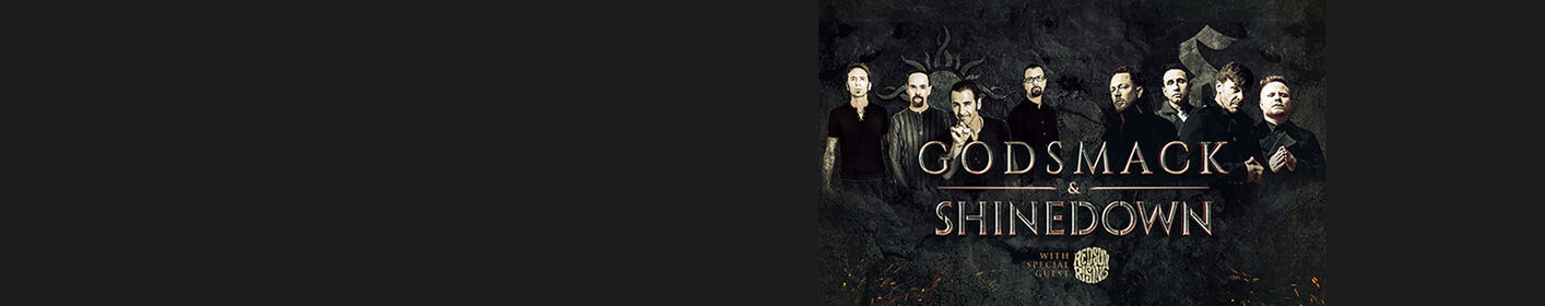 Listen to win tickets to Godsmack & Shinedown live!