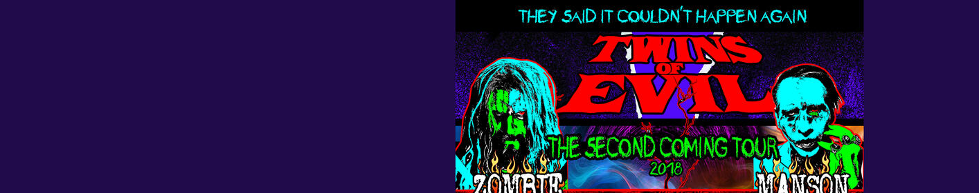 Listen to win tickets to Rob Zombie and Marilyn Mason live