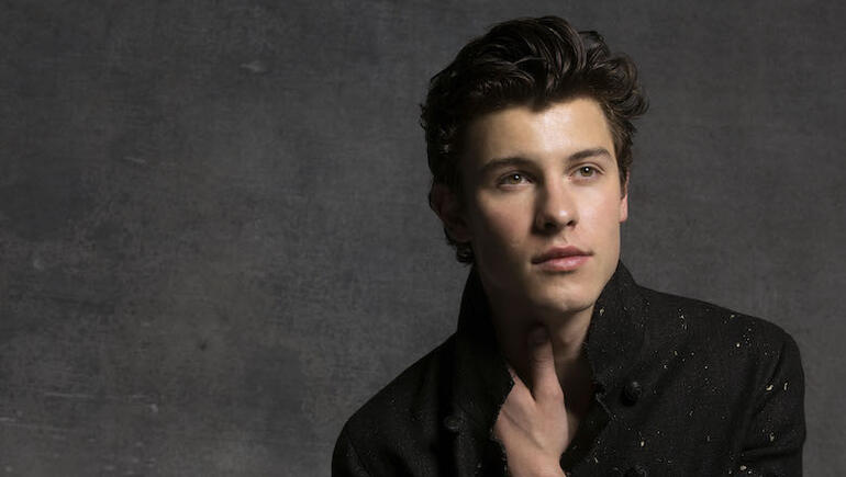 "Shawn Mendes Shares Vulnerable New Song ""In My Blood"""