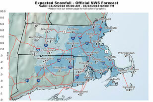 Wet, Slushy Accumulation Impacts Morning Commute