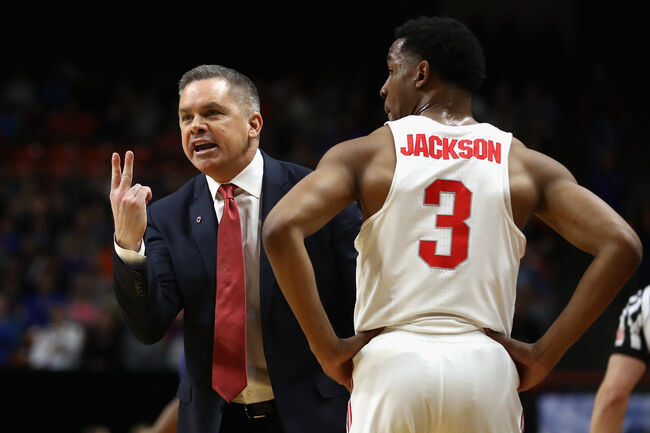 Chris Holtmann is calling a play, but he could also be saying how many talented graduate transfers he'd like to attract for next season