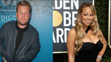 None - James Corden Stole A Candle From Mariah Carey's House