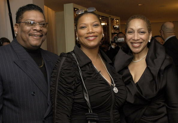Lance Owens, Queen Latifah and Rita Owens - Getty Images