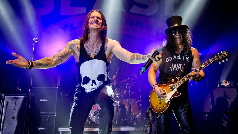 Slash and Myles Kennedy Announce New Album In The Fall