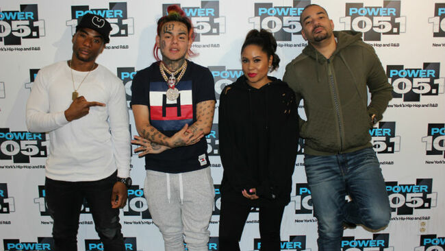 6ix9ine Tekashi Breakfast Club Interview