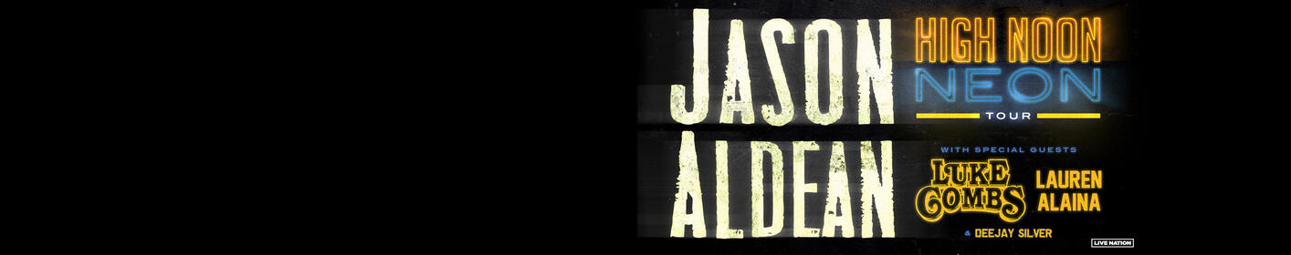 Win Tickets Now To See Jason Aldean, Luke Combs, and Lauren Alaina!