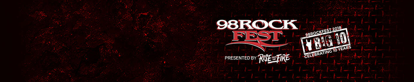 Listen at 6:40a, 10:40a, 2:40p, 3:40p, 4:40p + 5:40p to get LAST CHANCE 98ROCKFEST tickets