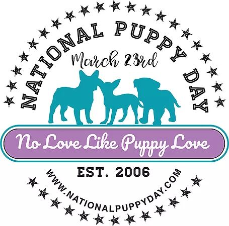 National Puppy Day Logo