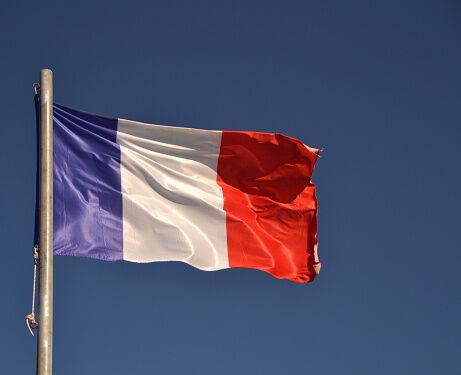 French Flag Getty RF