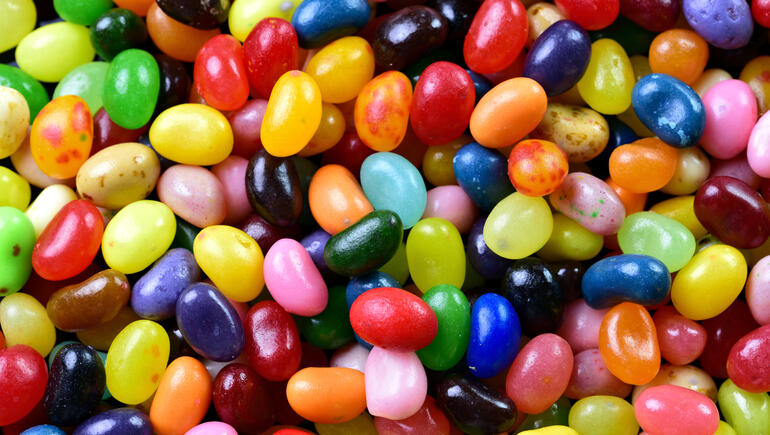 Amy's Pile: Buttered Popcorn Is The Most Popular Jelly Bean Flavor