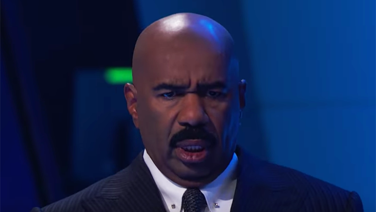 Steve Harvey's Reactions To This Creepy Contortionist Are Everything