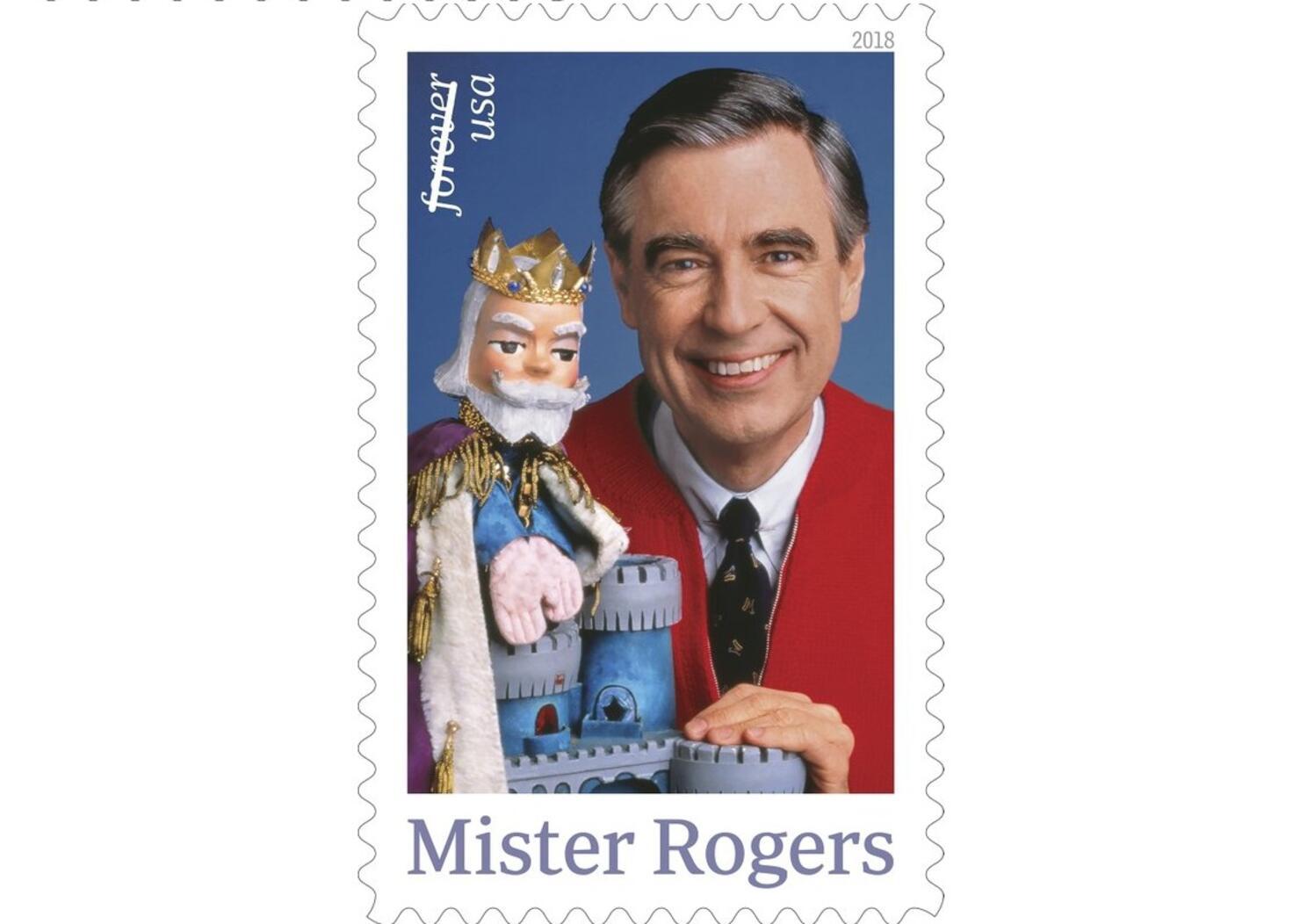 Mister Rogers Postage Stamp
