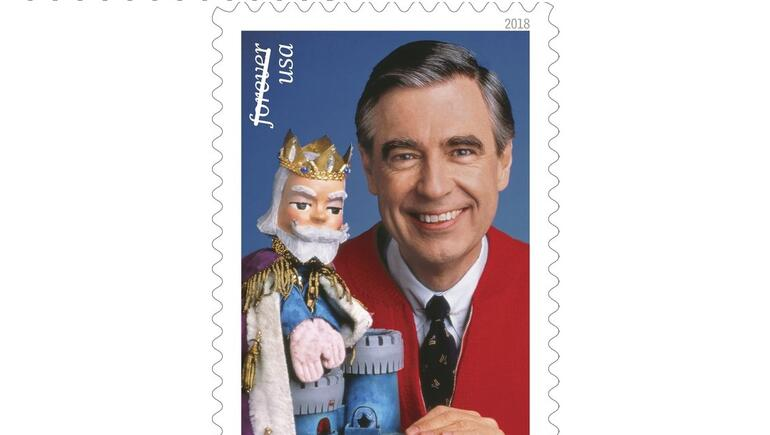 It's A Beautiful Day To Unveil The Mister Rogers Postage Stamp