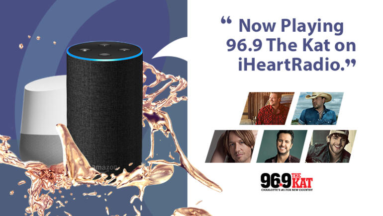How to Play 96.9 The Kat on Your Smart Speaker