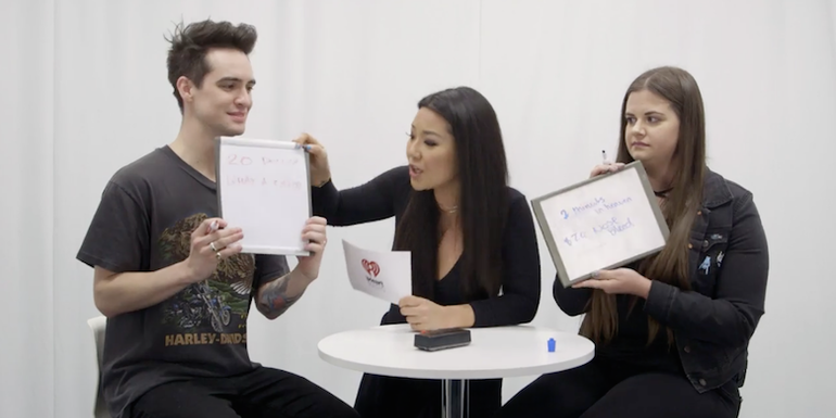 Brendon Urie Faces Off Against A Fan In Trivia About Himself (VIDEO)