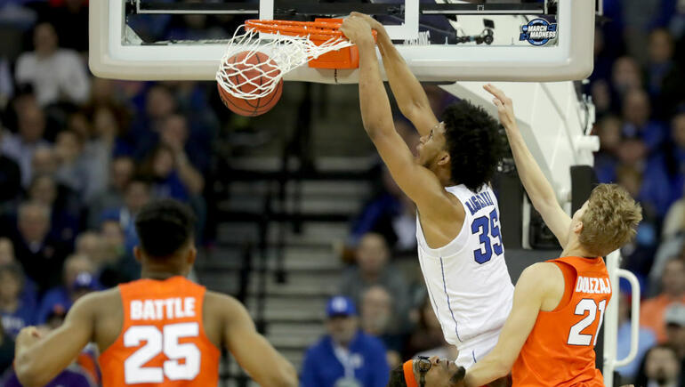 Duke beats Syracuse to advance to Elite Eight