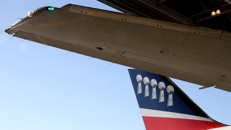New England Patriots Loan Plane to Parkland Students To Fly To Rally