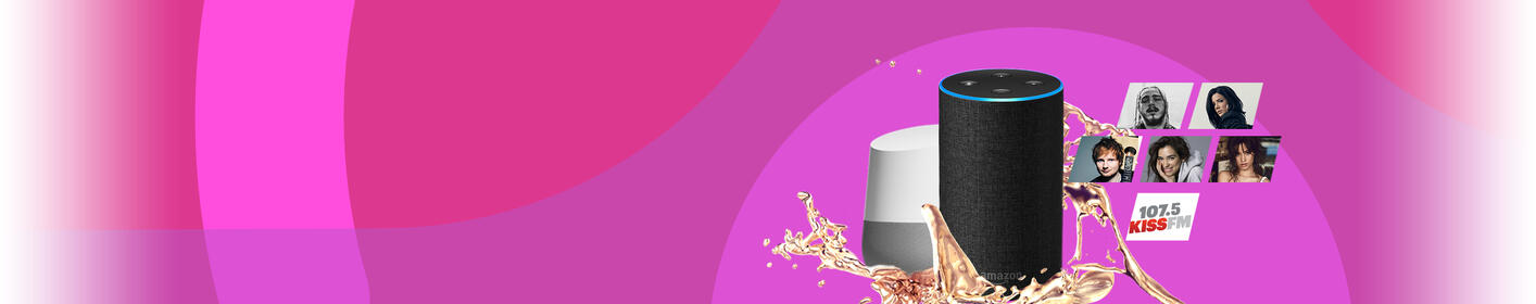 Listen to 1075 KISS FM on your Smart Speakers!