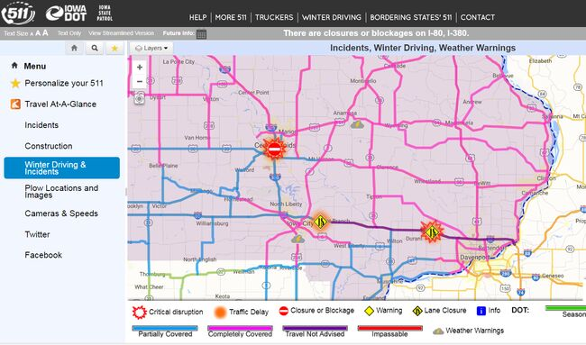 Road Conditions In Iowa Map.Spring Snowstorm Buries Northern And Eastern Iowa Map Am 600 Wmt