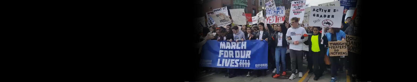 Tens Of Thousands March In Boston For Tougher Gun Laws