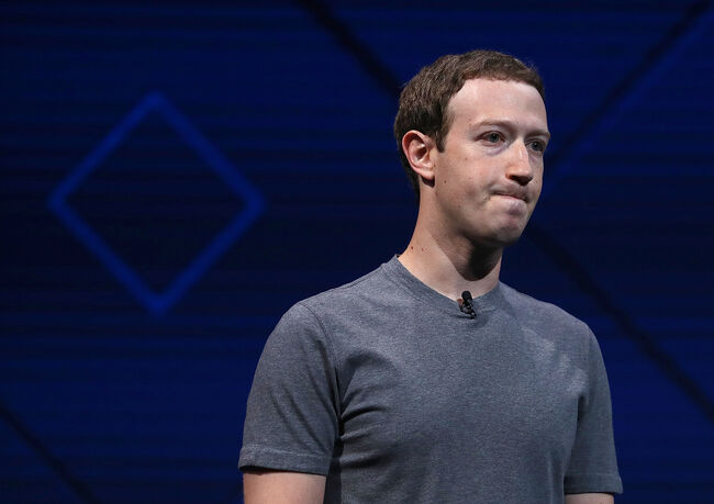 Save to Board Mark Zuckerberg Delivers Keynote Address At Facebook F8 Conference (Credit: Justin Sullivan/Getty Images)