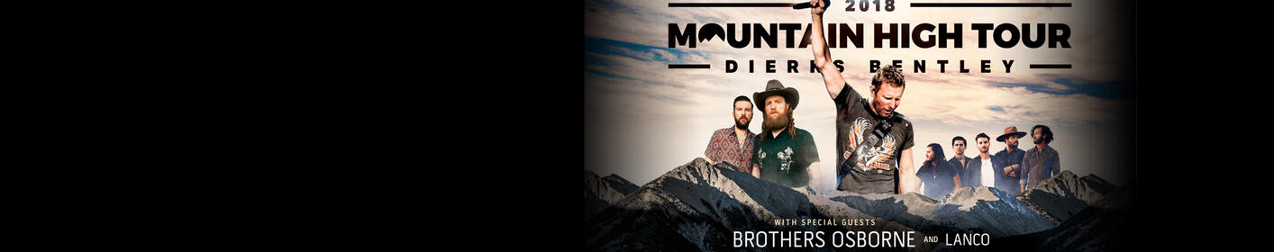 Enter to win tickets to Dierks Bentley's Mountain High Tour!