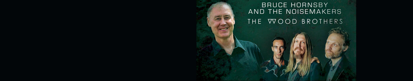 See Bruce Hornsby at the Charleston Gaillard on June 27