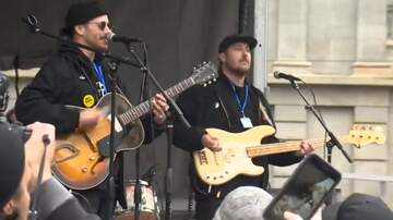 Laura - Portugal. The Man performed at the Portland March For Our Lives rally