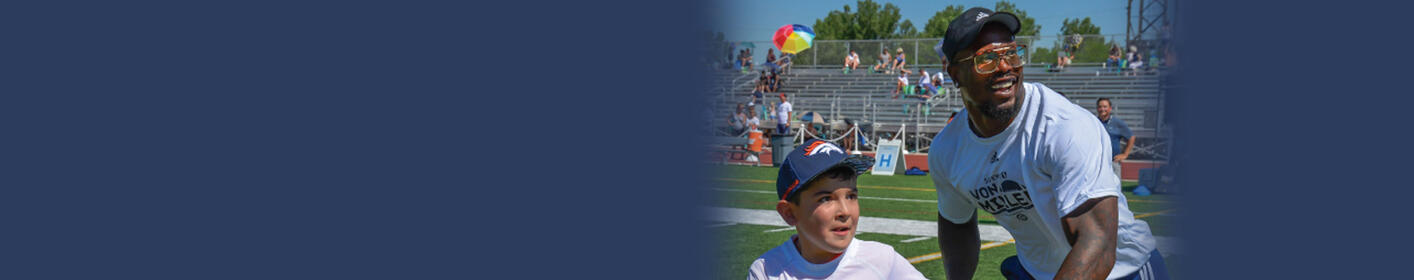 Join Orange & Blue 760 at the Von Miller Youth Football Camp