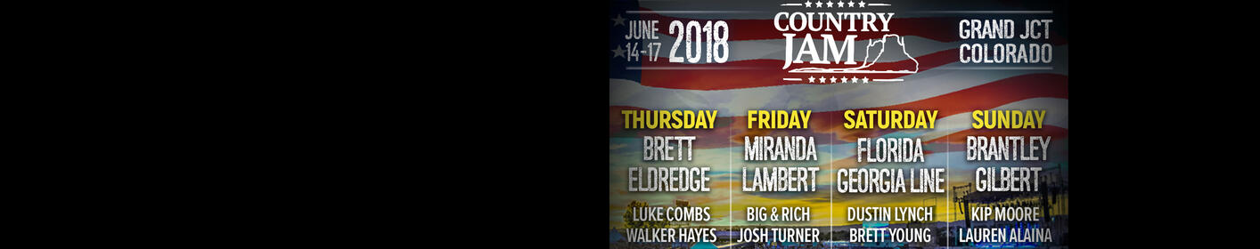 Win Country Jam Tickets!