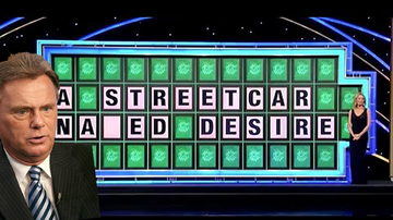 Trending - Man With Dirty Mind Blows Easy Wheel of Fortune Puzzle