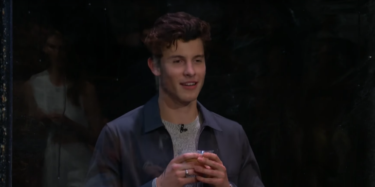 Watch James Corden Pelt A Bunch Of Fruit At Shawn Mendes