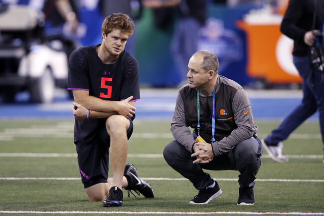 Nothing can keep the Browns from taking Sam Darnold. Except a trade out of No. 1