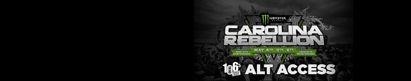 1065 The End ALT Access: Win the Best Seat in the House at Carolina Rebellion