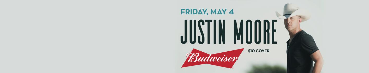 Justin Moore at Fourth Street Live!