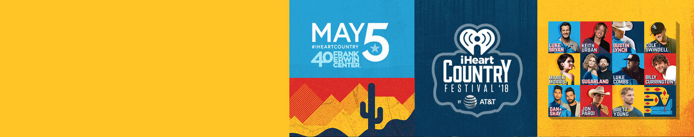 Win your trip to our 2018 iHeart Country Festival by AT&T!