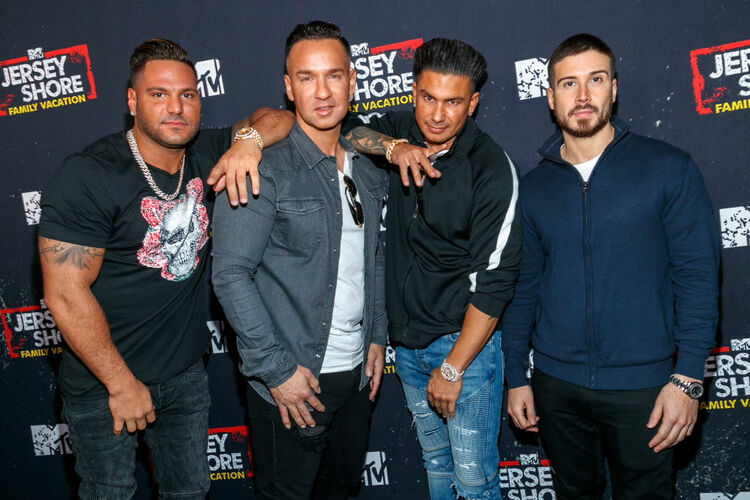The Return Of MTVs Jersey Shore So Course Our Crushes Are None Other Than Men Thats Right Vinny Guadagnino Paul DJ Pauly D