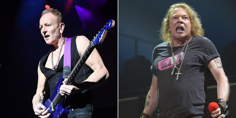 "Def Leppard's Phil Collen Calls AC/DC With Axl Rose ""Karaoke"""